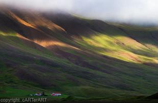 Iceland Mountain Light