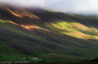 Iceland Mountain Light
