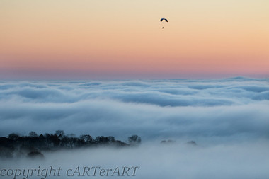 Evening Paraglide