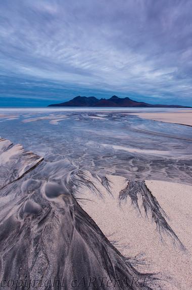 Sand Patterns. Laig Beach.