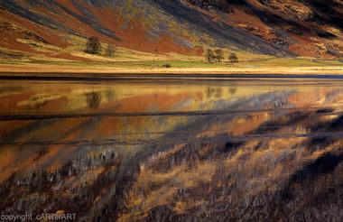 Loch Achtriochtan - reflections