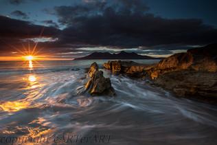 Sunset Singing Sands