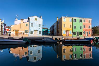Colourful Houses, Burano
