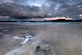 Seilebost Beach Rainy Morning