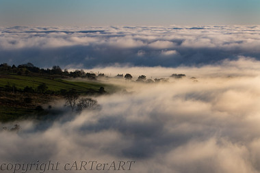 Mists from Clee Hill 2