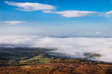 Ludlow under Mist