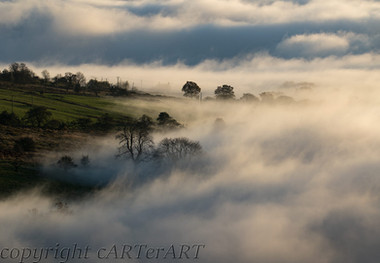 Mists from Clee Hill