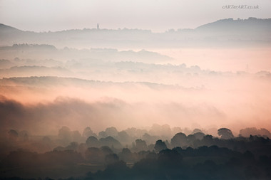 Pink Mists Abberley Tower