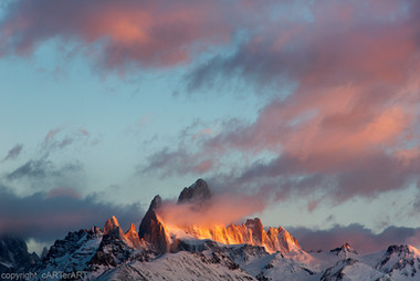 Fitz Roy Morning Colours
