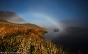 Fog Bow. Wales