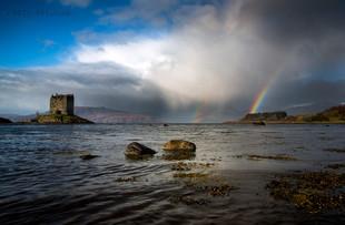 Castle Stalker Rainbow