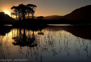 Loch Assynt. Sunrise
