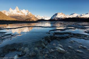 Río de las Vueltas. Patagonia