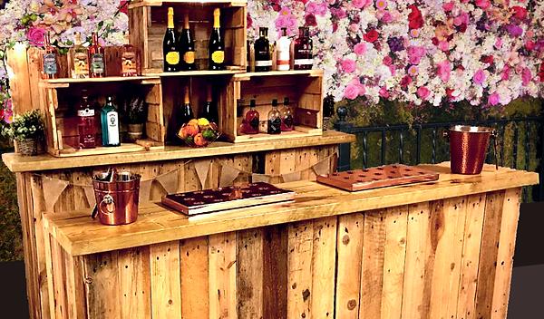 cocktail wedding bar - flower bg - websi
