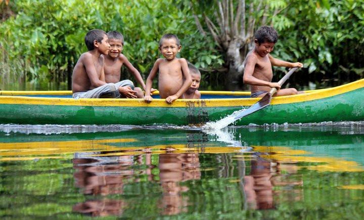 Visita a comunidades Warao