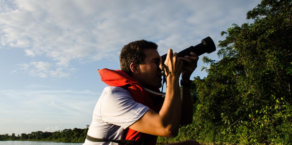 Excursión al río Morichal Largo