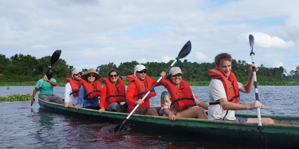 Paseos en canoa