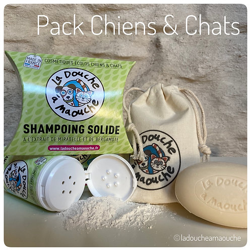 PACK SOINS CHIENS & CHATS
