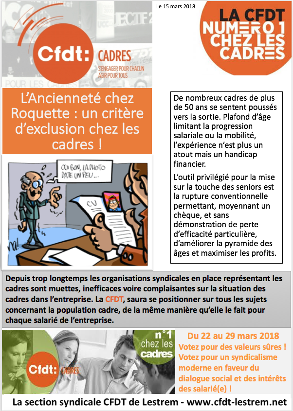 Tract cadres 1