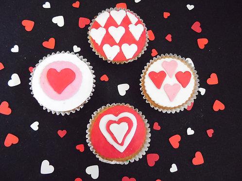 Valentijnscupcake