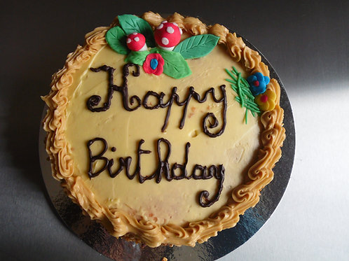 Verjaardagsbiscuit
