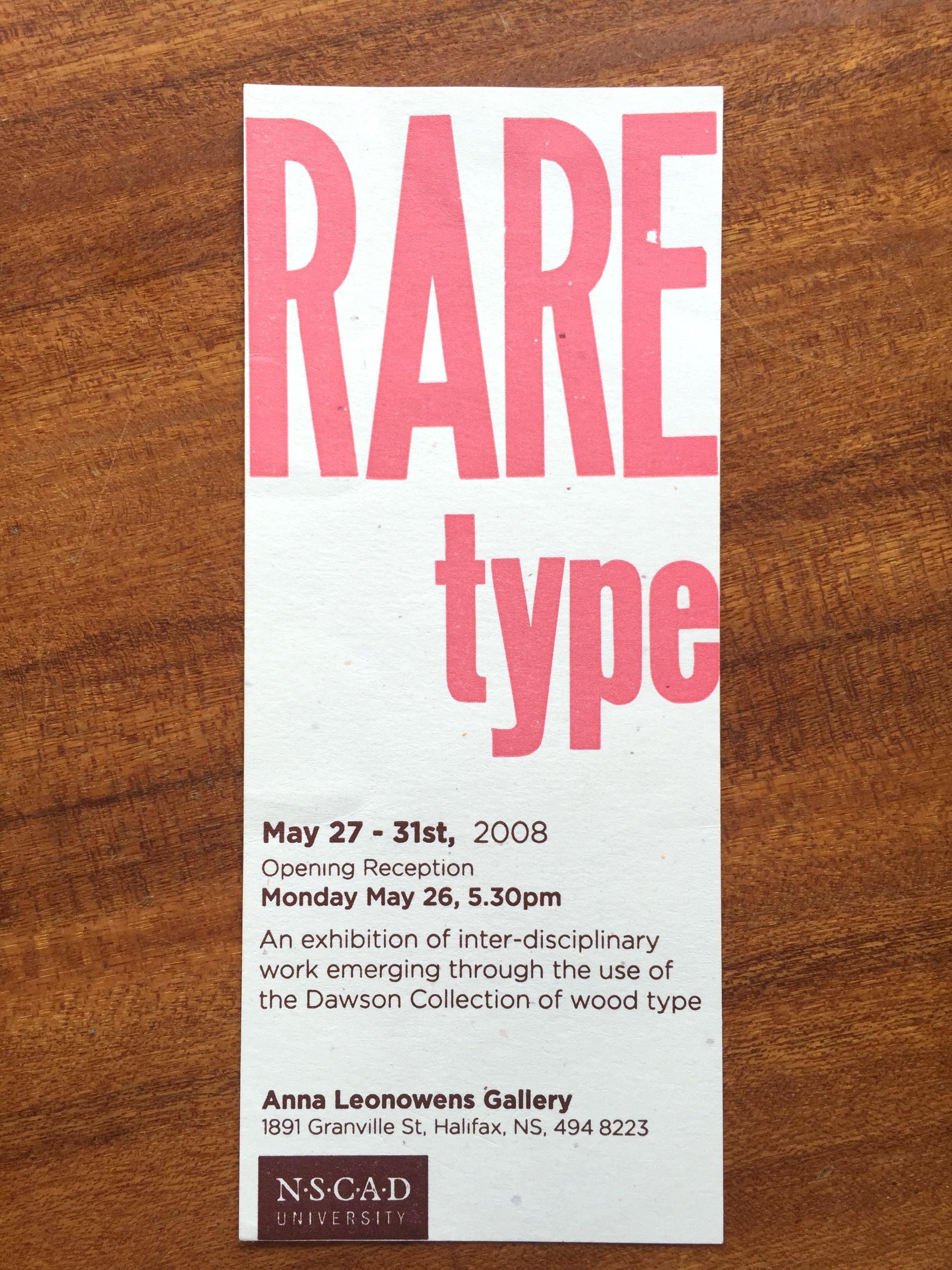 Rare Type