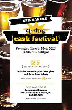 Cask Festival Poster