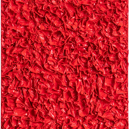 Crumpled Monochromes, Samy's Red, 2020