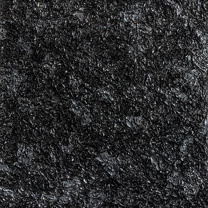 Crumpled Monochromes, Black, 2016