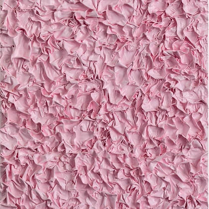 Crumpled Monochromes, My Pink, 2020