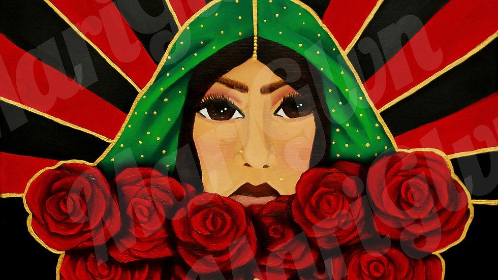 """""""La Bruja"""" Original Piece by Maribel Galvan"""
