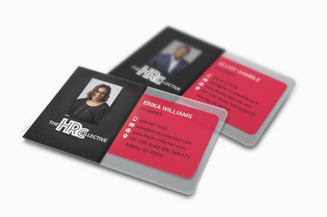 Translucent Business Cards MockUp_HRColl