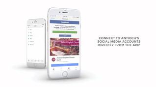 Antioch's Mobile Application Promo 2018.