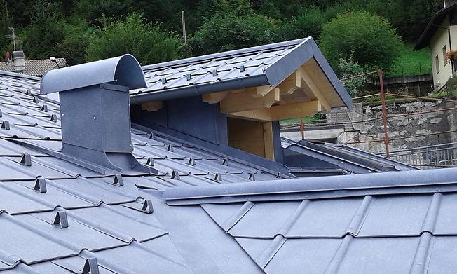 tetto Prefa in Trentino