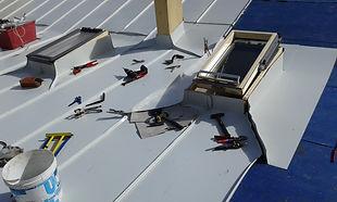 attrezzi sul tetto