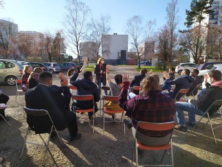 Balade sensible et ateliers de codesign pour la nouvelle Résidence Habitat Jeunes Kennedy !