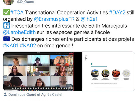 """Fighting against gender stereotypes"", Erasmus+ et IH2EF"
