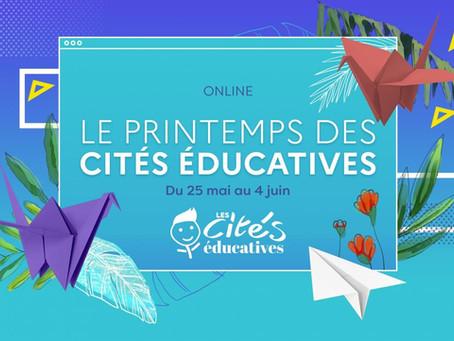 Conférence dans le cadre du Printemps des Cités Éducatives, #citéséducatives