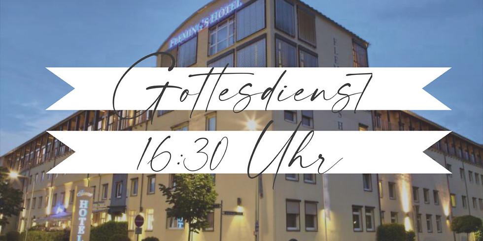 16:30 Uhr FFM - Flemings Conference Hotel, 9. Mai