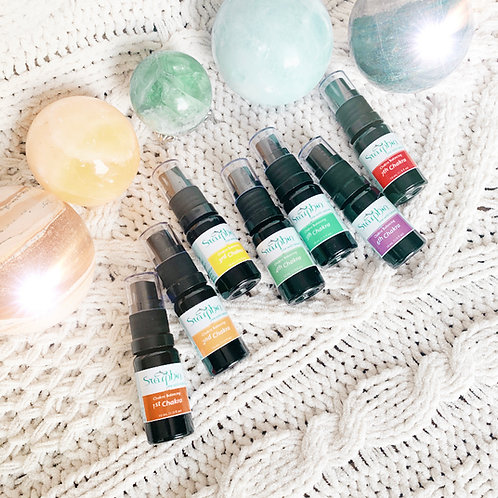 Chakra Balancing Spray Set