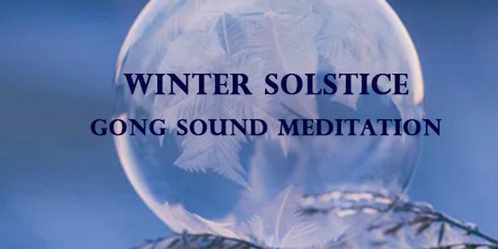 Winter Solstice 2019 | Gong Sound Meditation