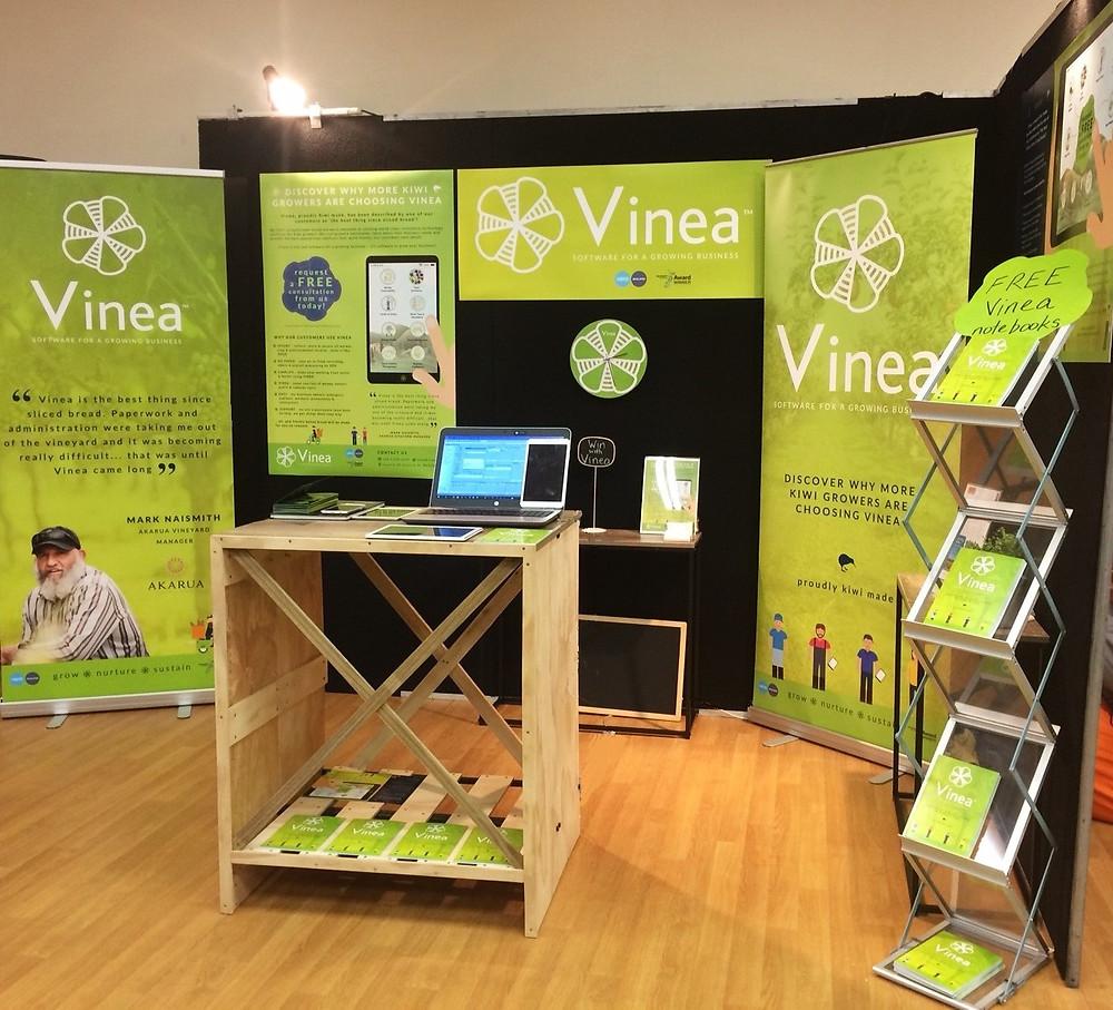 The Vinea Exhibit at Bragato 2017