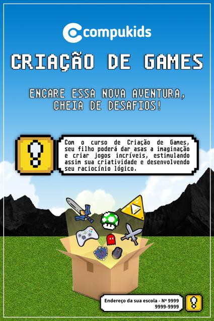 compukids criação de games