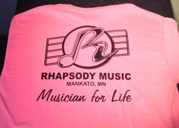 Rhapsody Music Shirt