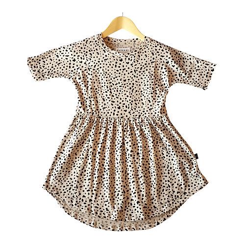 Dalmatian Swirl Dress