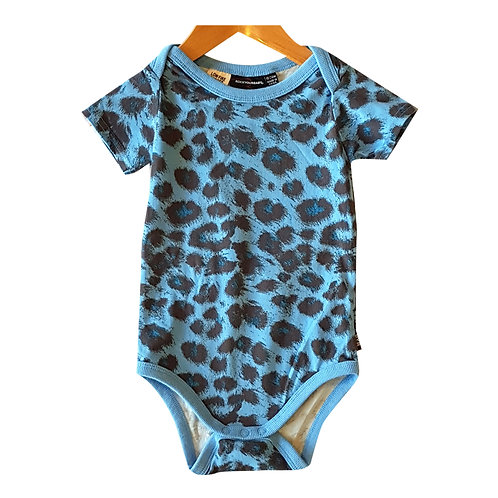 Blue Leopard Body Suit