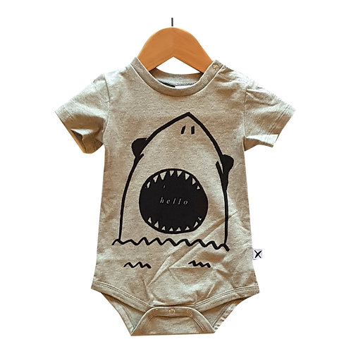 Hello Goodbye Shark Onsie