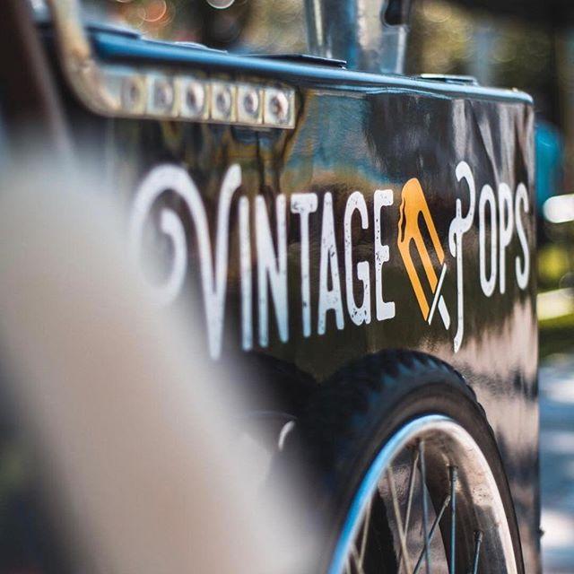 Vintage Pops Cart