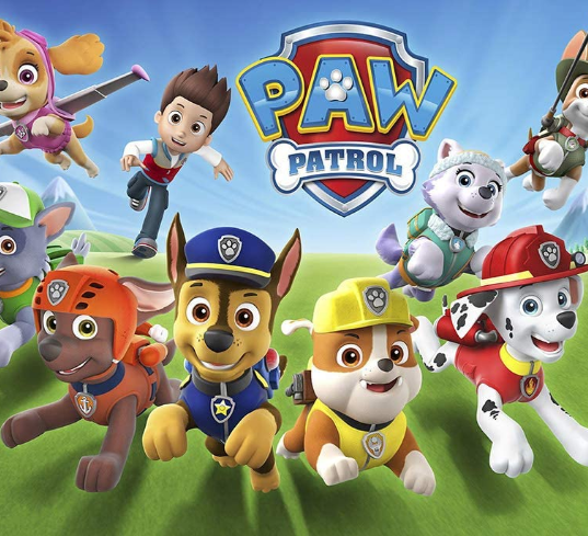 Paw Patrol Backdrop