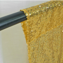 Gold Sequin Backdrop (2)